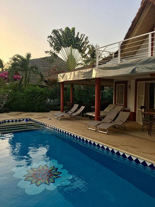 piscine - villa sawana