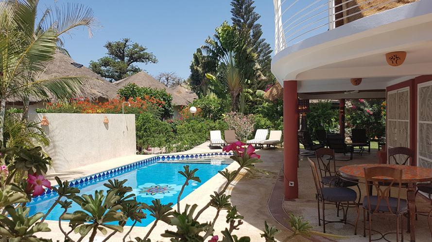 Villa Sawana d'hôtes saly Mbour - SENEGAL