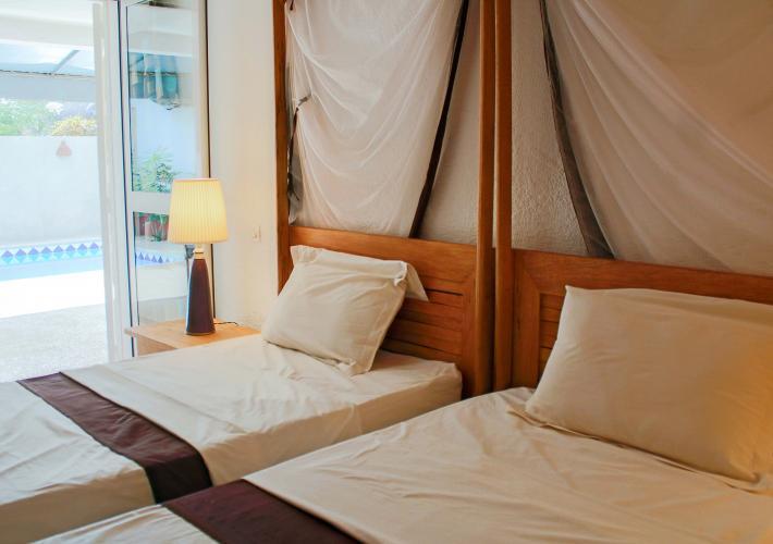 Chambre 3 - avec deux lits separés